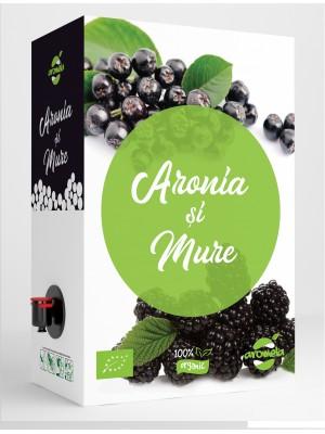 Organic Aronia and Blackberry juice, BIB 3 l