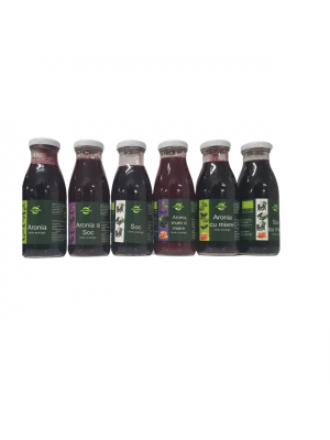 Organic Aromela Tonic Collection, 6 bottles.