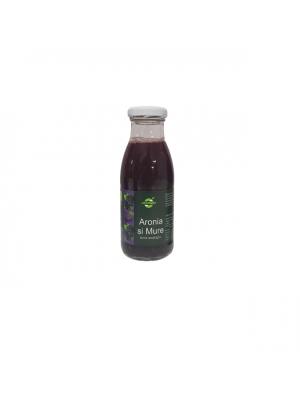 Aronia si Mure - Tonic ecologic, sticla 0,25L