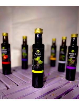 Suc ecologic de Aronia, sticla 0,25l