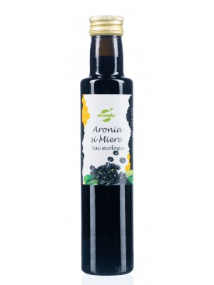 Organic Aronia Juice wiith Honey, 0,25l bottle