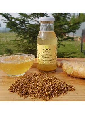 Tonic ecologic de soc (contine floare de soc, miere si ghimbir), sticla 200 ml