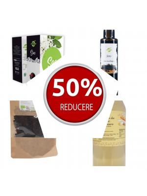 Pachet 12 produse din soc, reducere 50%