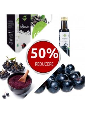 Pachet 12 produse din aronia, reducere 50%