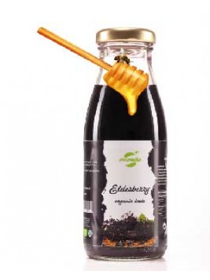 Fructe de Soc cu miere - Tonic ecologic, sticla 0,25L