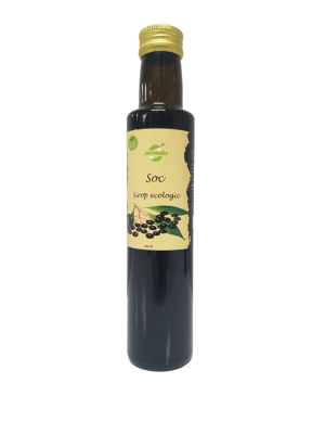 Sirop ecologic de soc, low sugar, sticla 250 ml