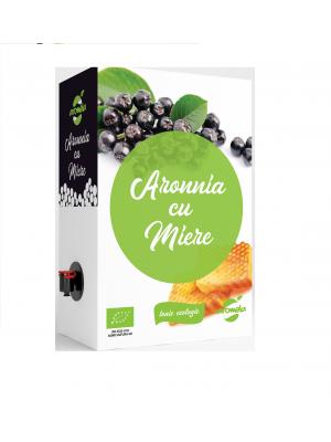 Tonic ecologic de Aronia cu miere, BIB de 2l