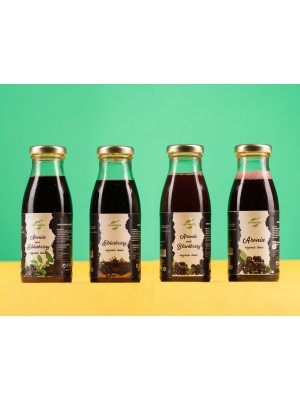 Organic Aromela Tonic Collection, 6 bottles.