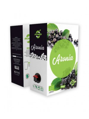 Organic Aronia juice, Bag in box 3 L