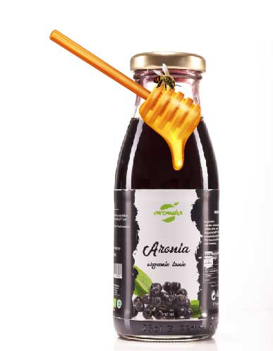Aronia  and Honey - Organic Tonic, 0,25 L bottle
